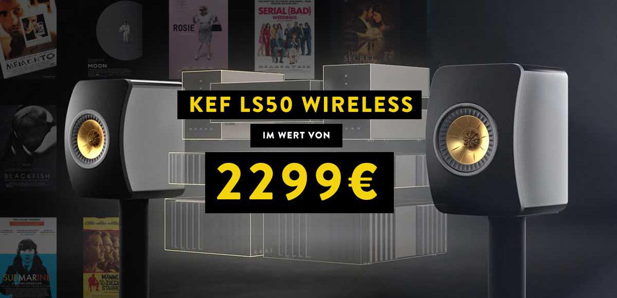 KEF LS50 WIRELESS - IM WERT VON - 2299€